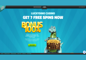 How to get started at LuckyDino Casino and what are the features of this online casino?